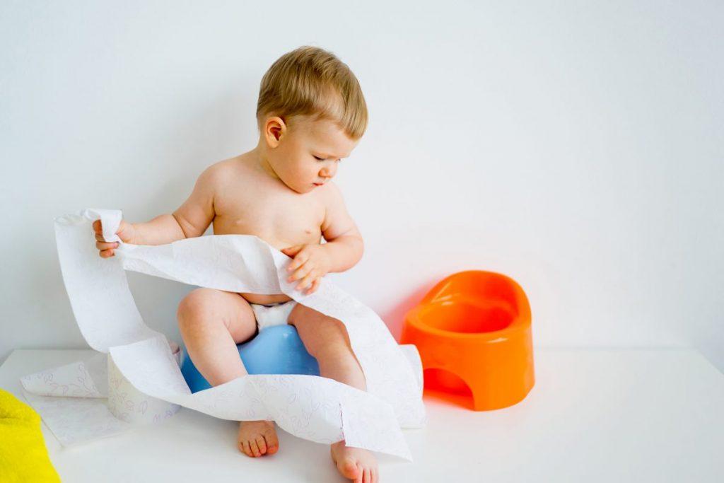Hypospadias potty training
