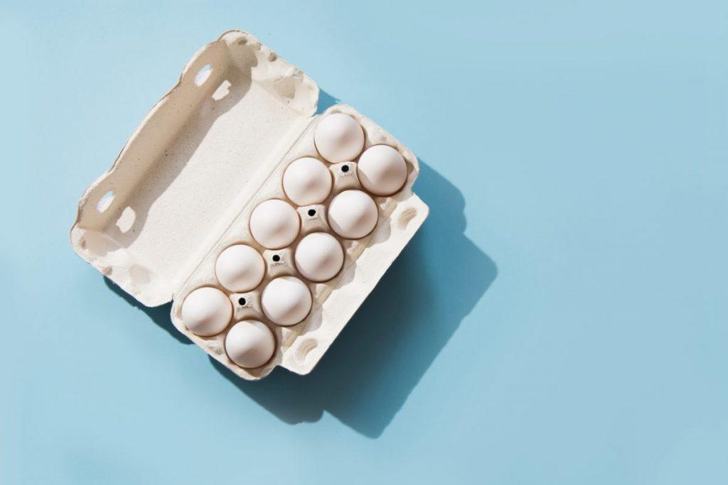 high acid foods eggs