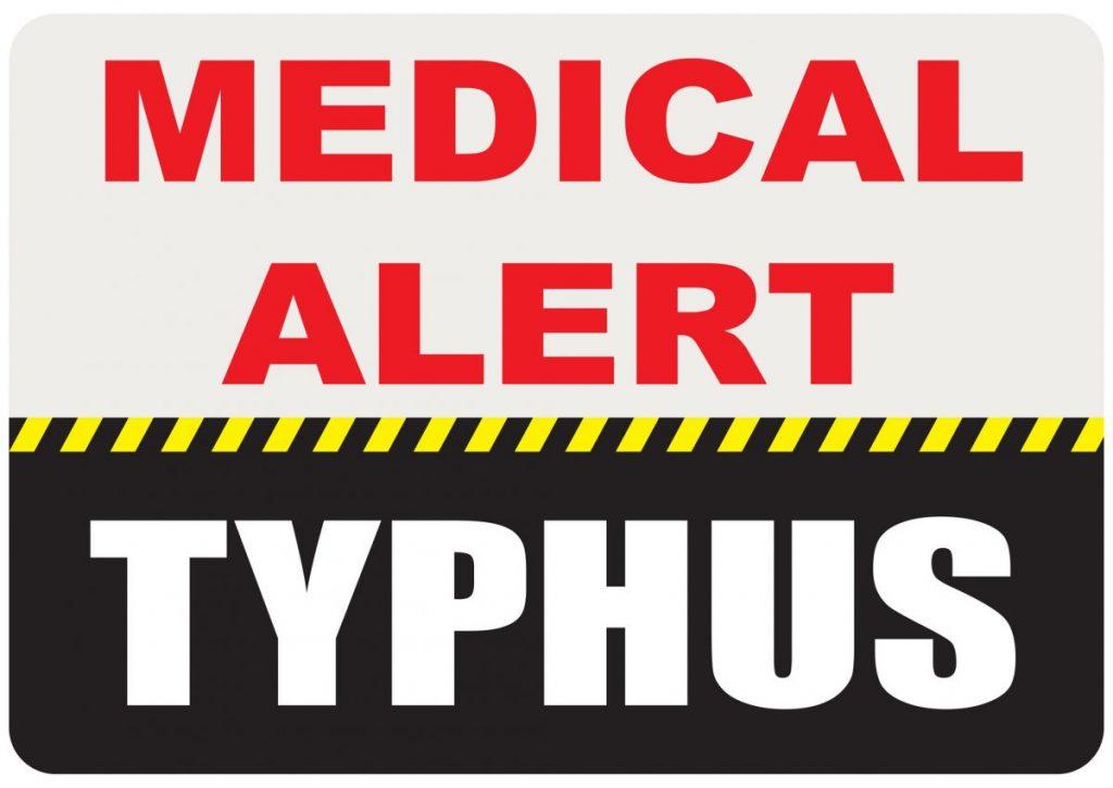 symptoms of Typhus