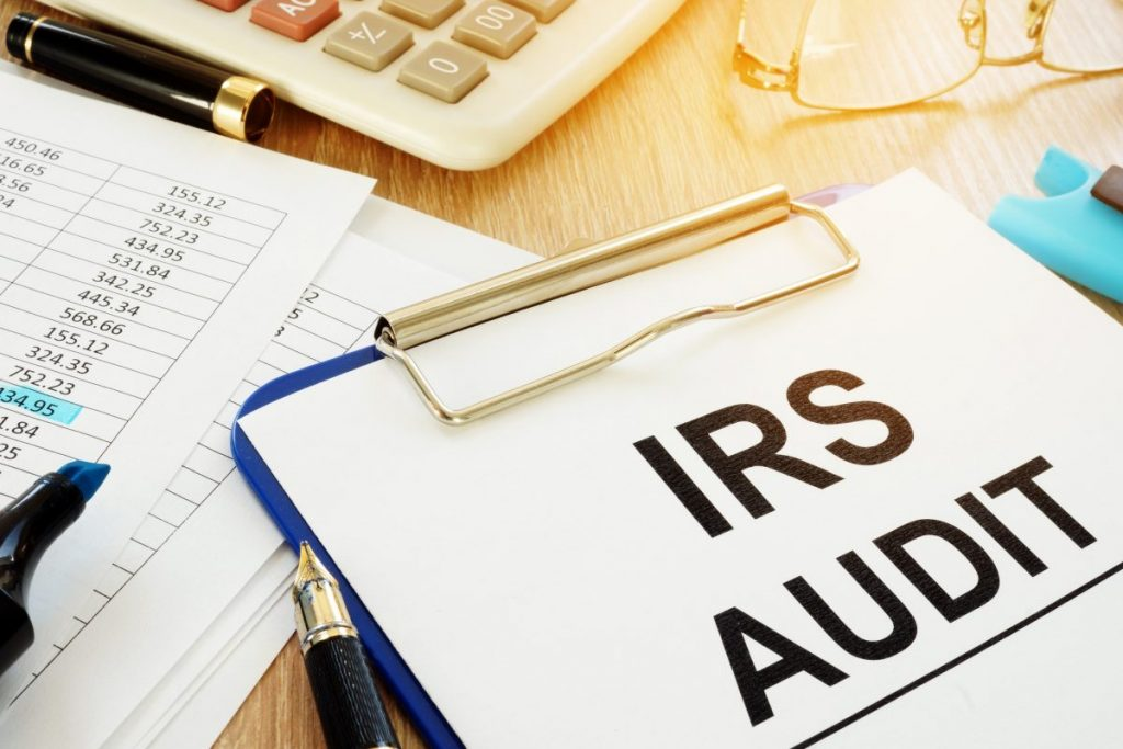 audit using a tax service