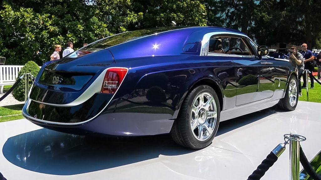 Rolls Royce Sweptail automobiles