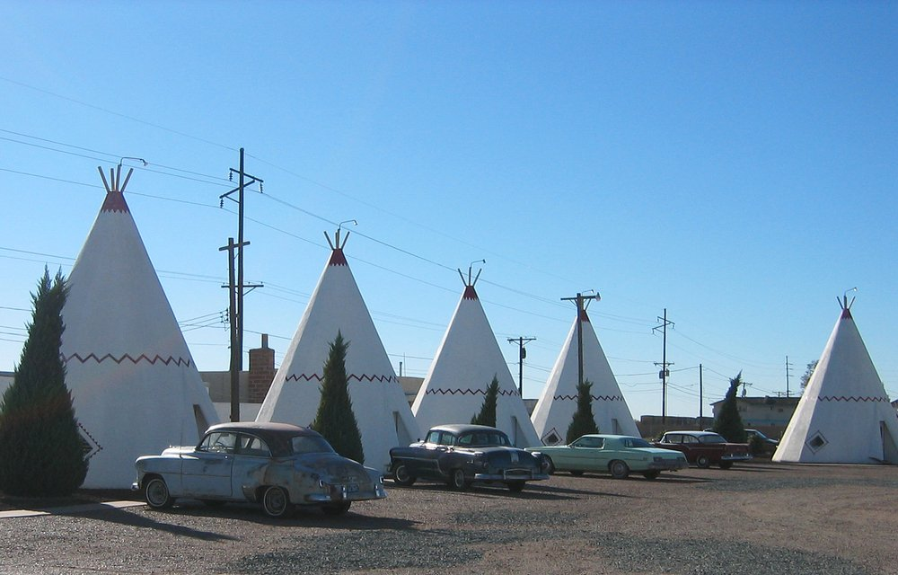 Route 66 wigwams