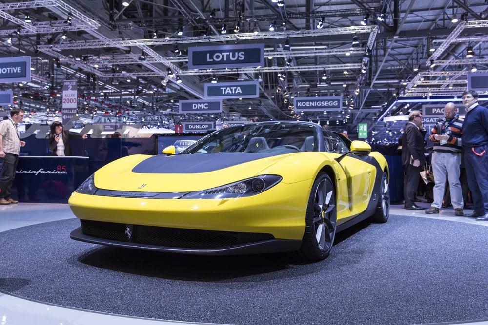 Ferrari Pininfarina Sergio automobiles