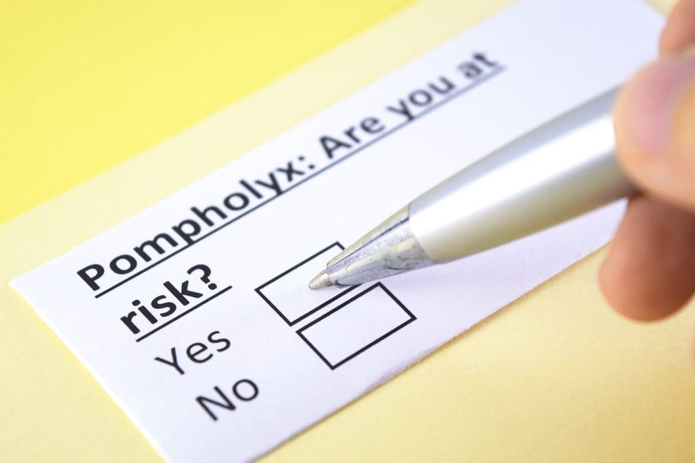 risk factors pompholyx