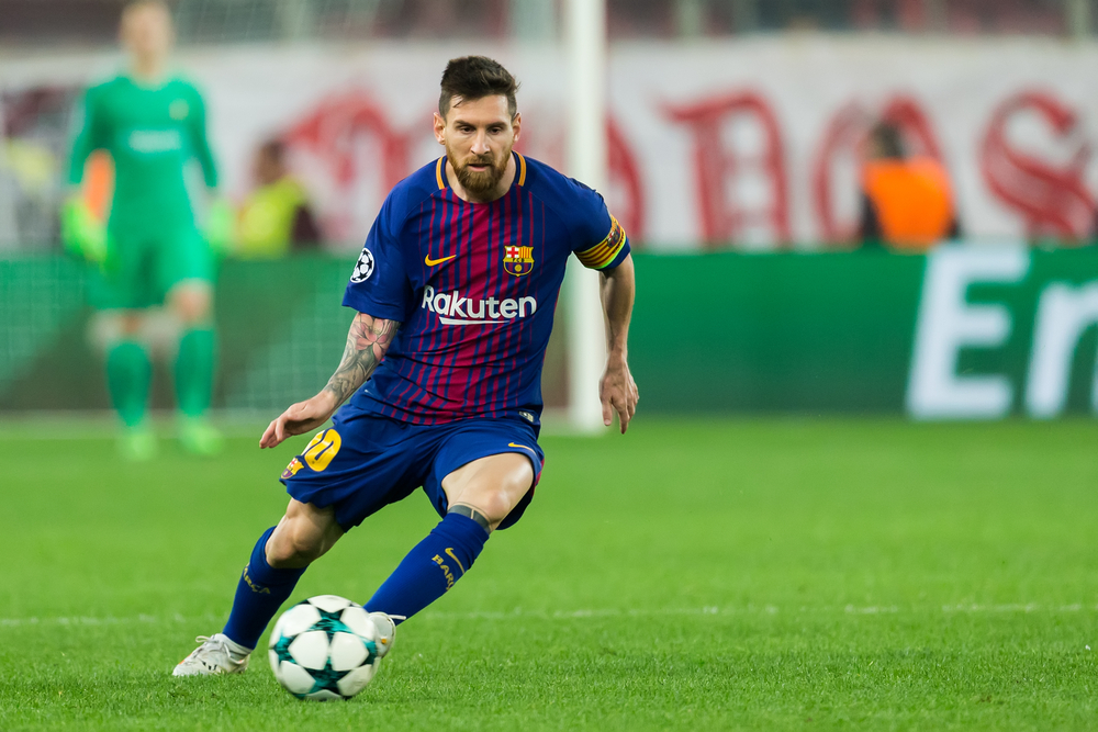 Lionel Messi best soccer player