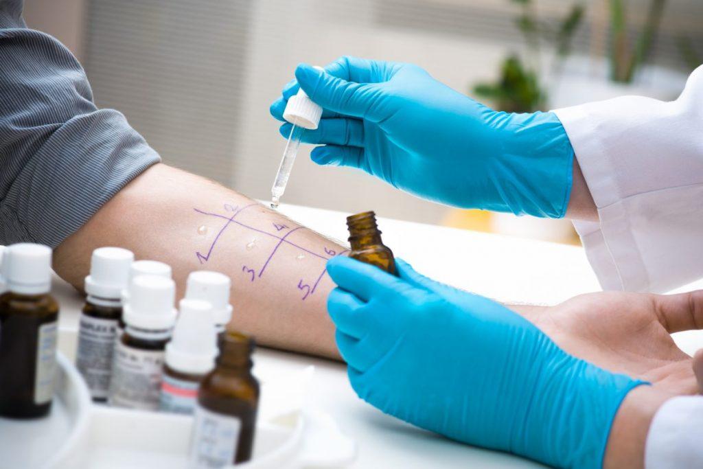 Nonallergic rhinitis test