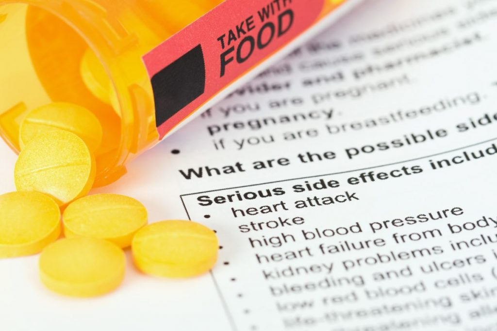 side effects corticosteroids