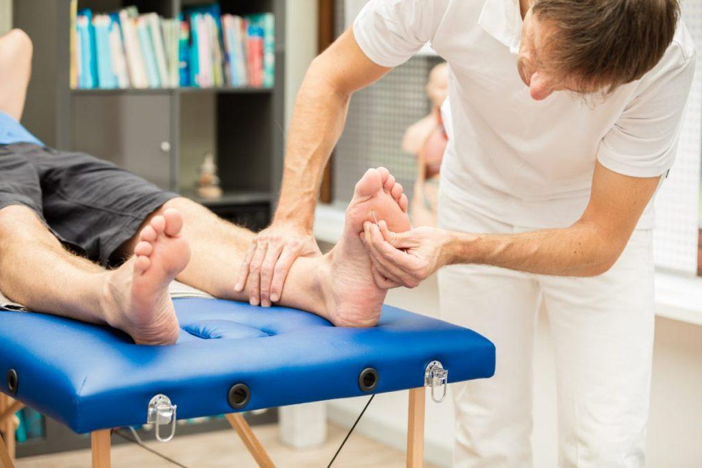 nerves numbness foot