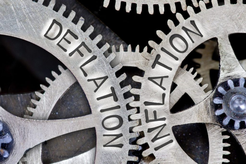 deflation recession