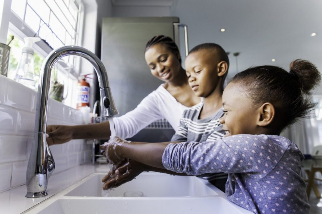 Wash Hands Good Hygiene