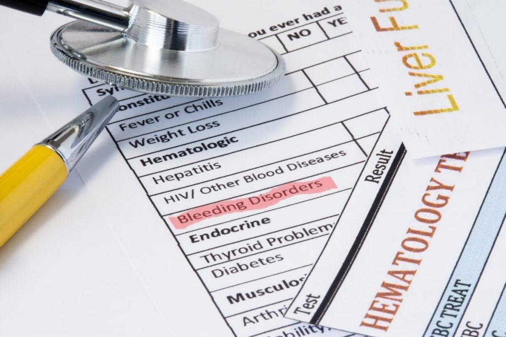 hemophilia Bleeding disorders