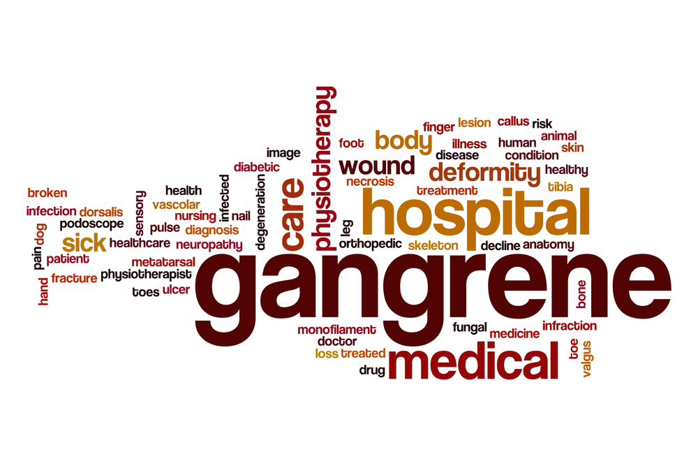 types of gangrene