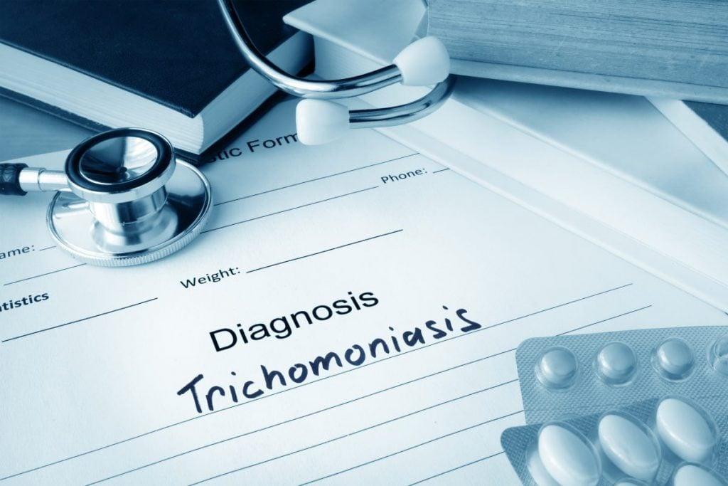 trichomoniasis urethra pain