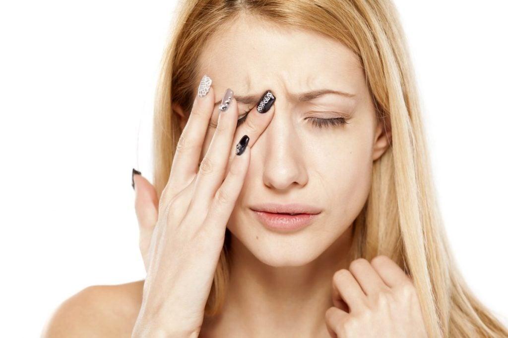 Headache Pain Behind the Eyes