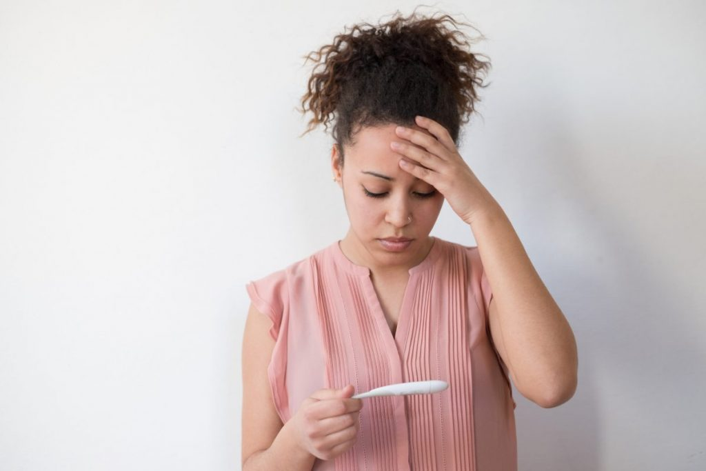 infertility Inflamed ovaries
