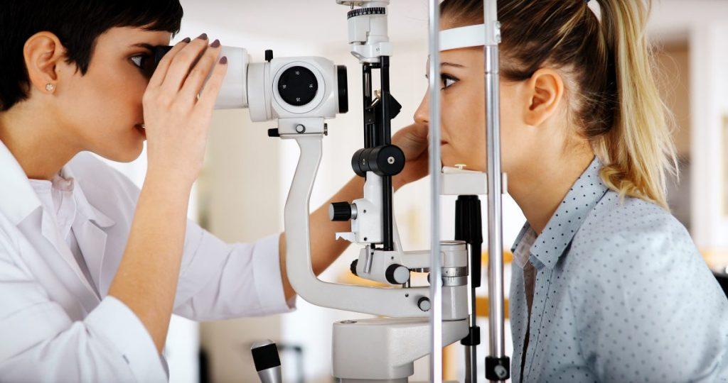 Sudden loss of vision diagnosed