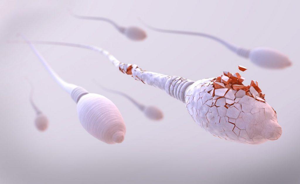 spermicide urethra pain