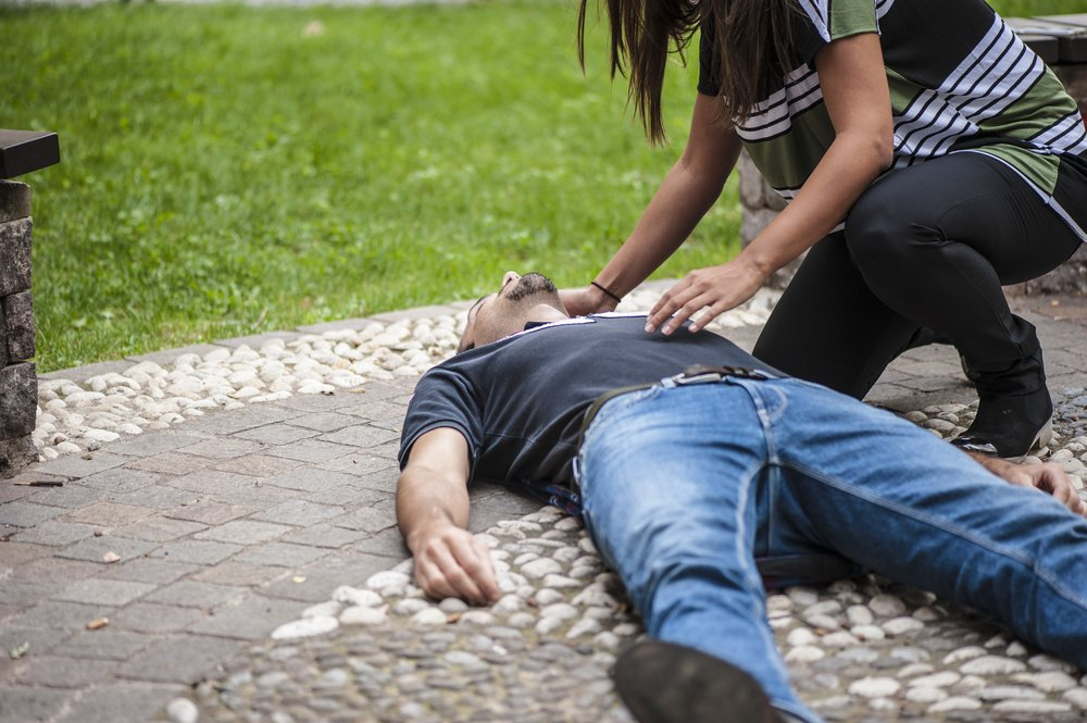 fainting types of shock