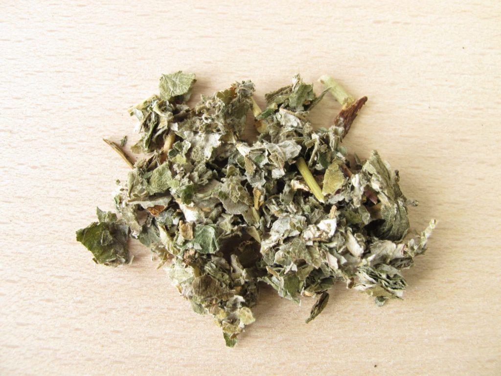 nutrients raspberry leaf tea