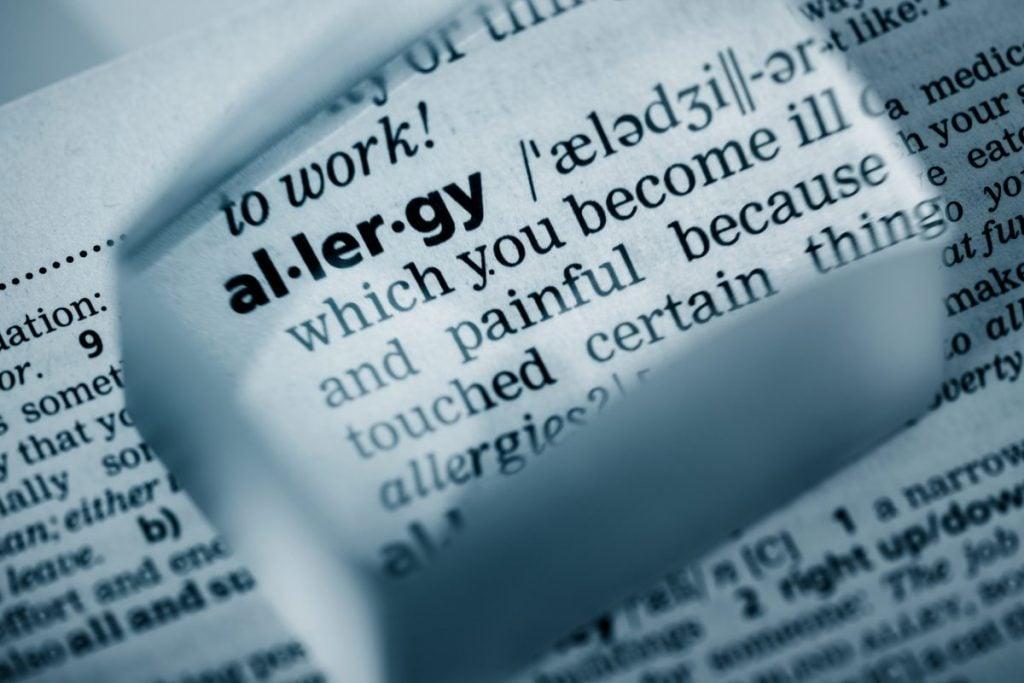 Erythritol allerrgies
