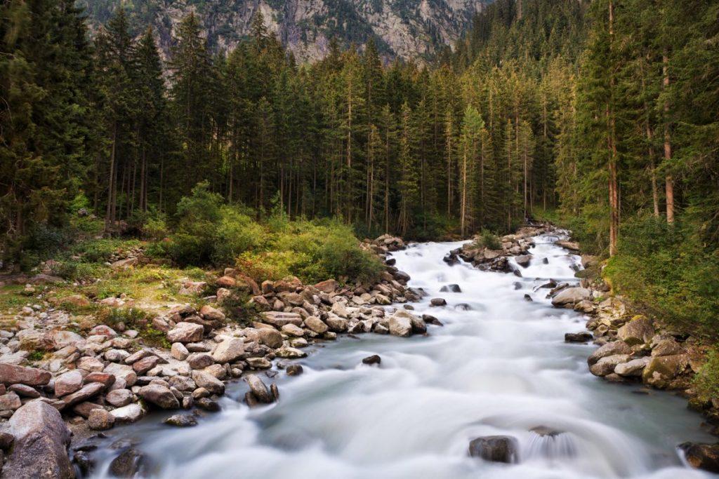 where Raw water