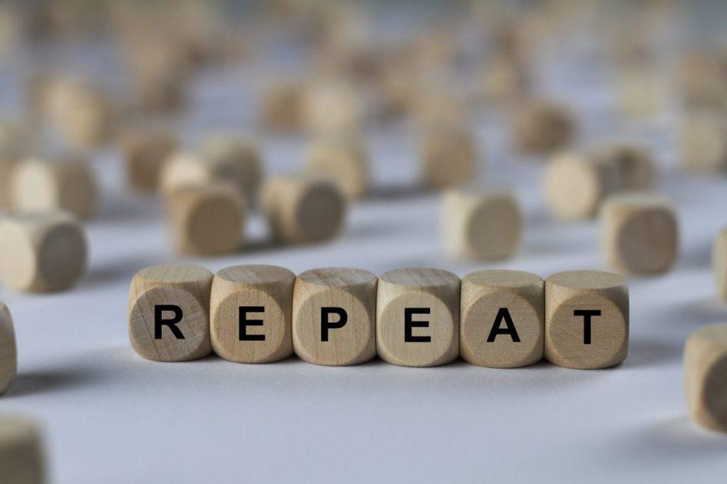 repeat memory training