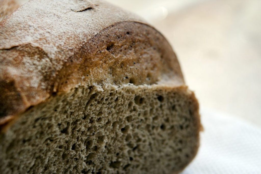 gluten sprouted grain bread