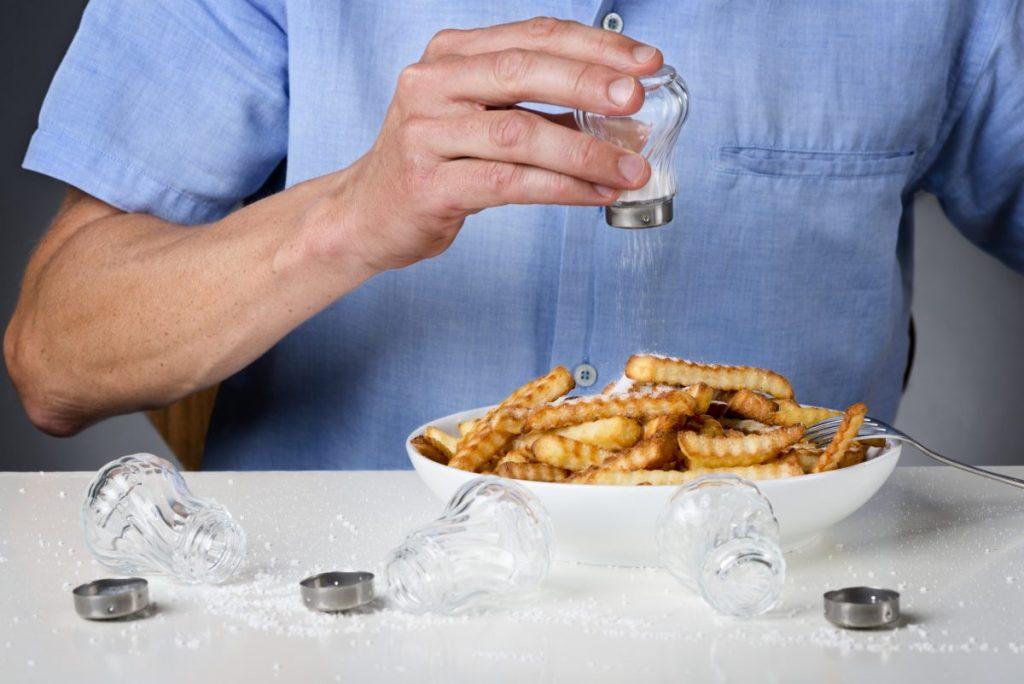 salty sodium