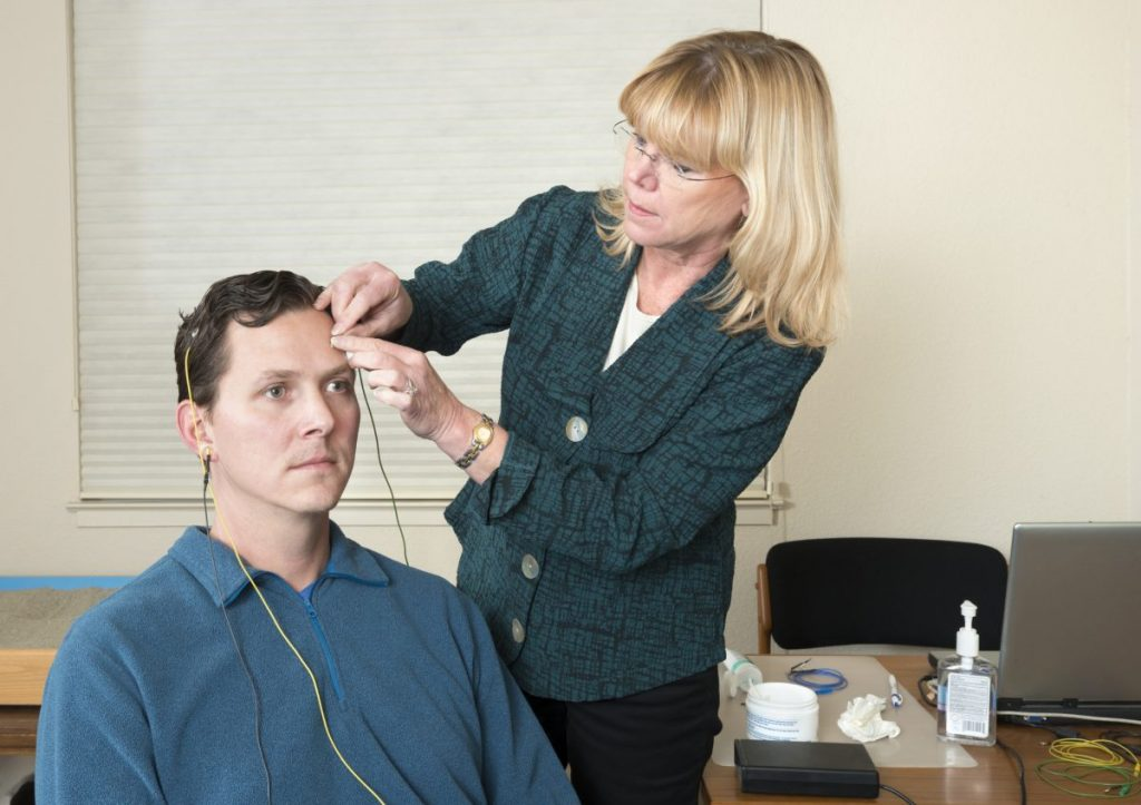Biofeedback therapist