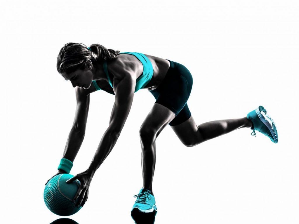 dead lift medicine ball exercises