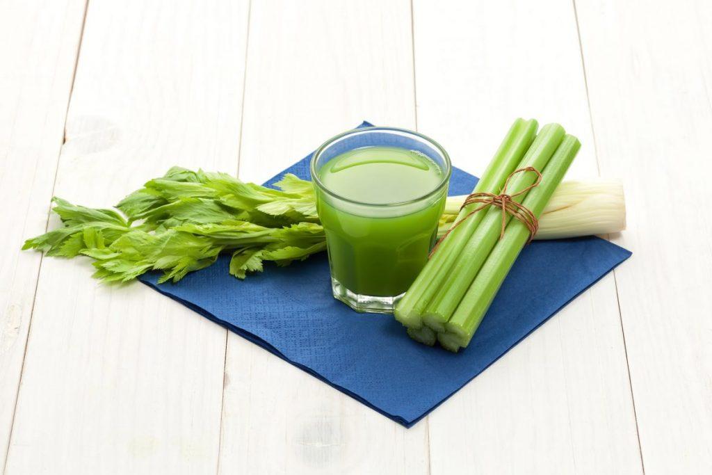 nutrients Celery juice