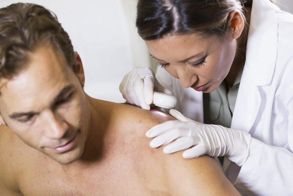 dermatologist pustules infection