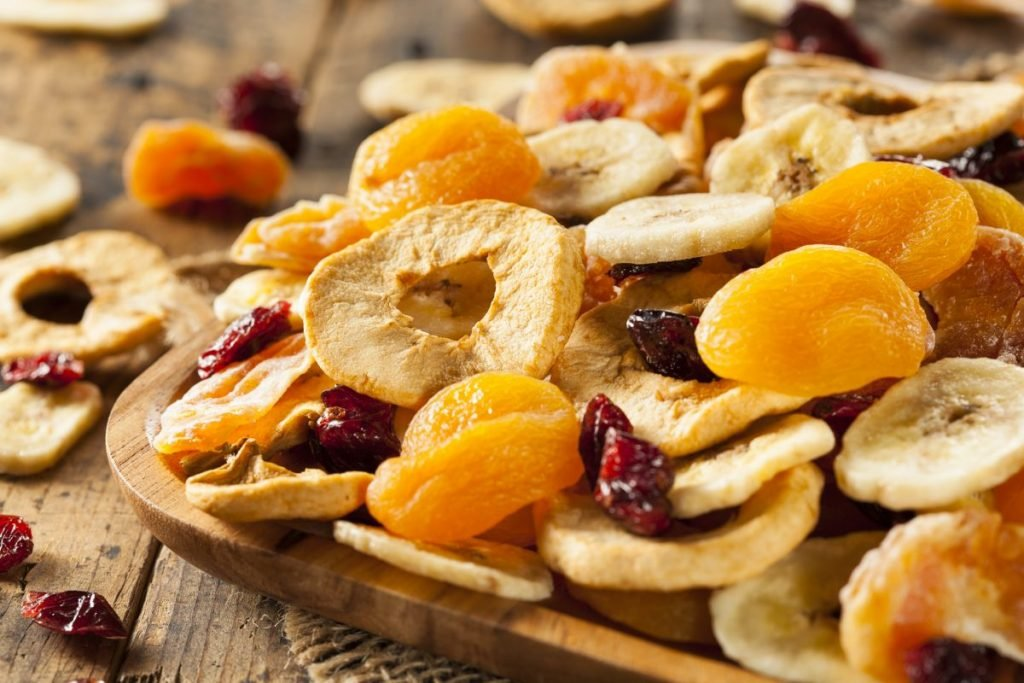 concentrated dried fruit