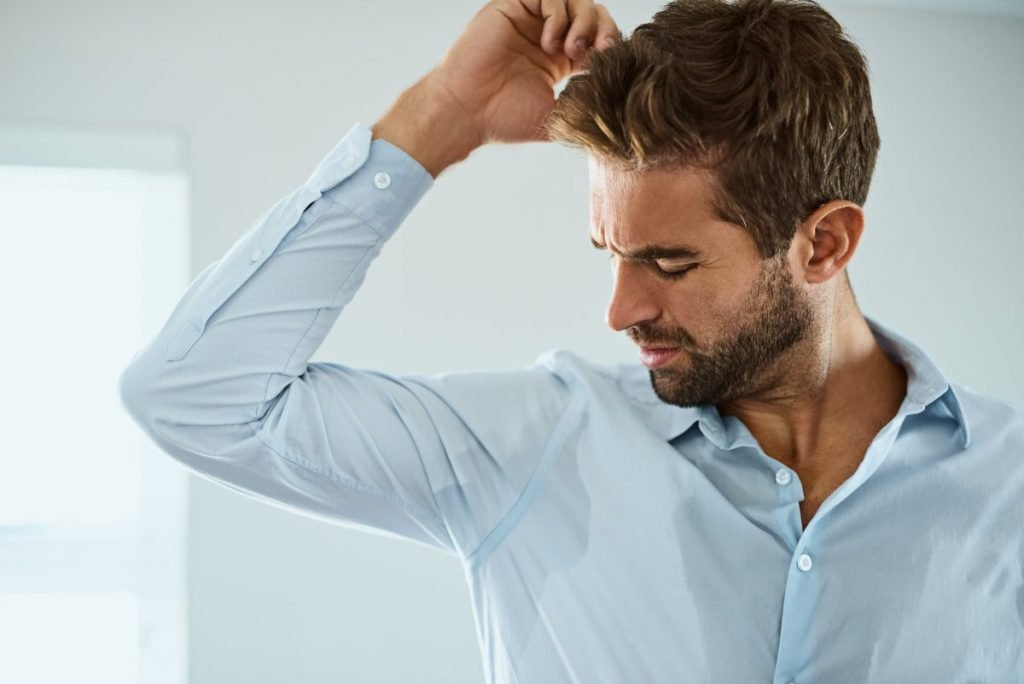 symptoms hyperhidrosis sweating