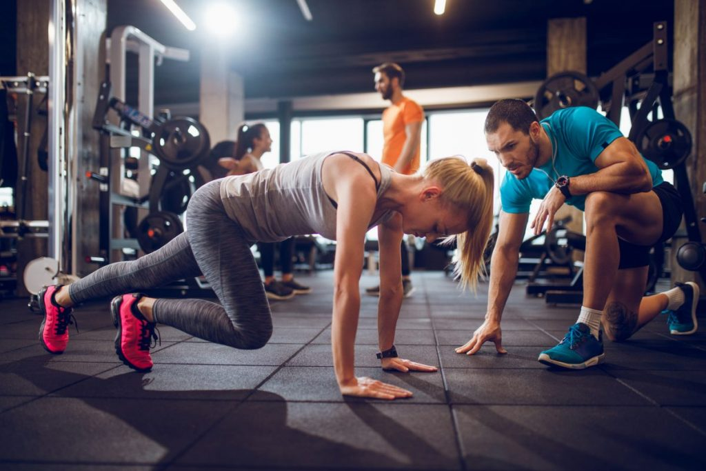 burn calories with burpees