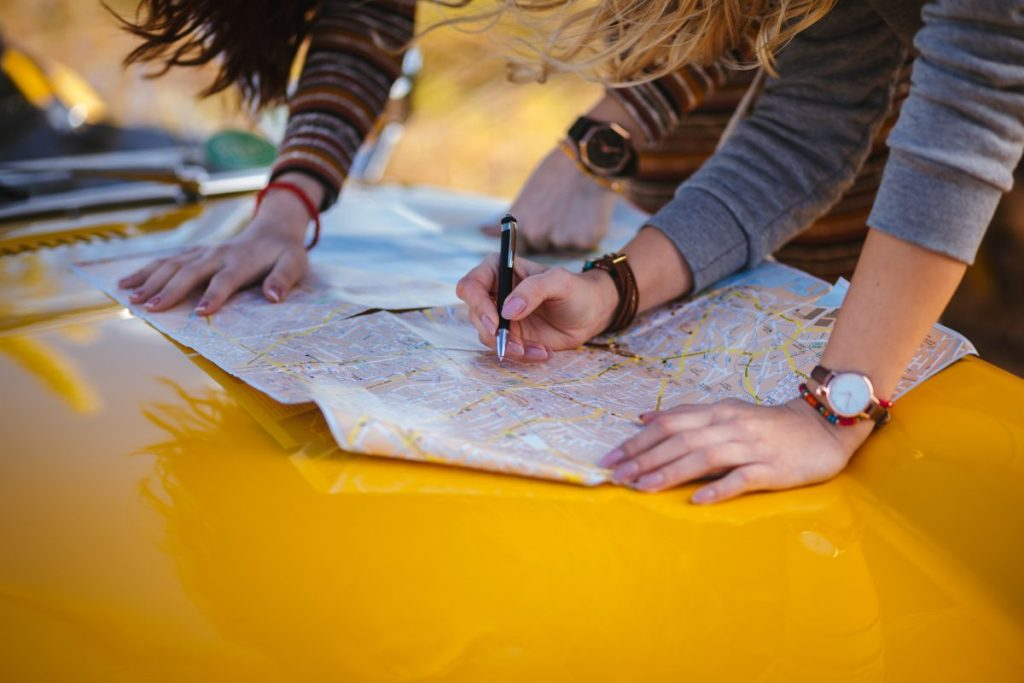 travel map drive