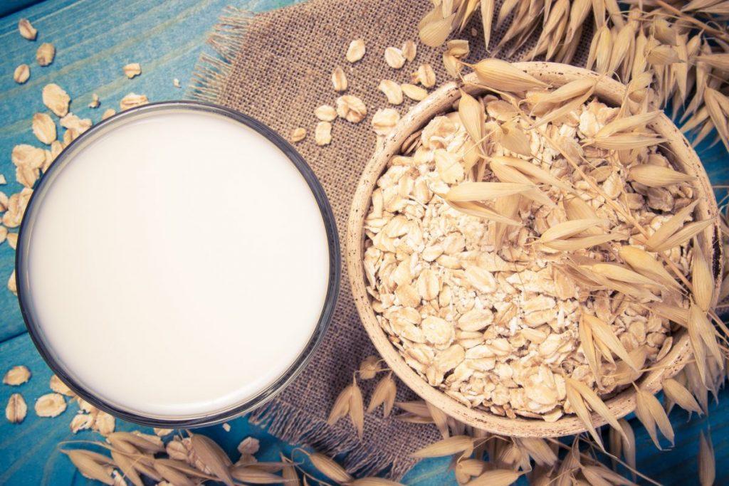 making oat milk
