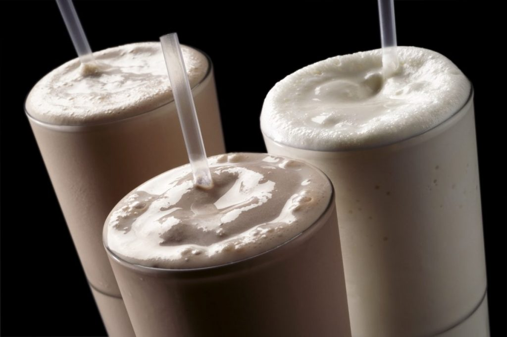 history of Milkshakes