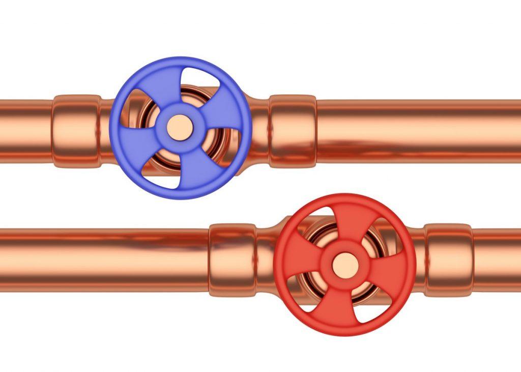 copper levels in water