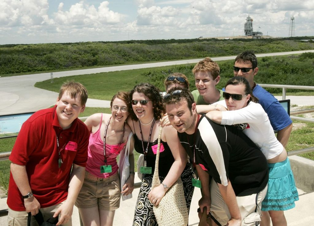 visiting Kennedy Space Center