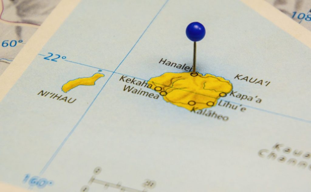 geography Kauai