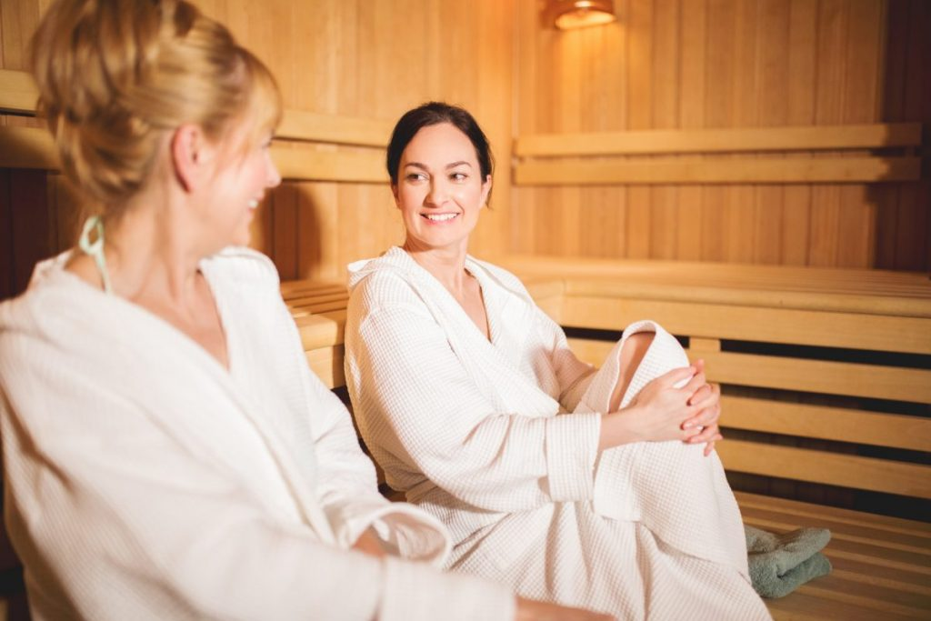 health benefits saunas