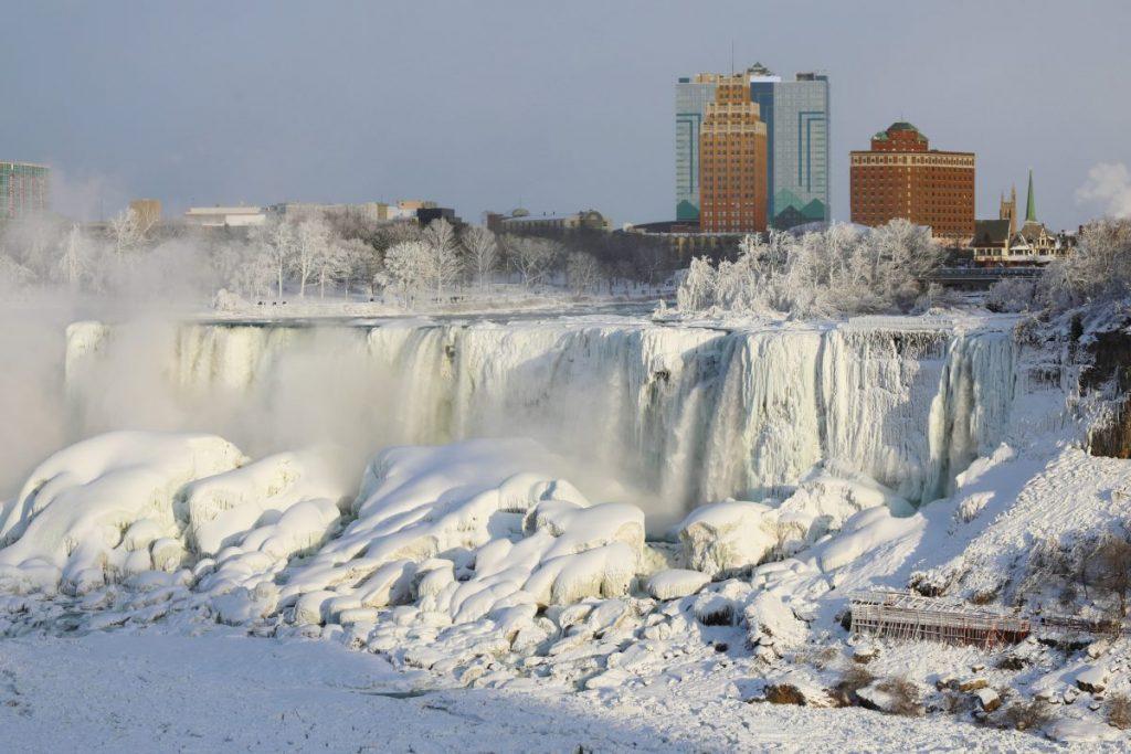 ice Niagara Falls