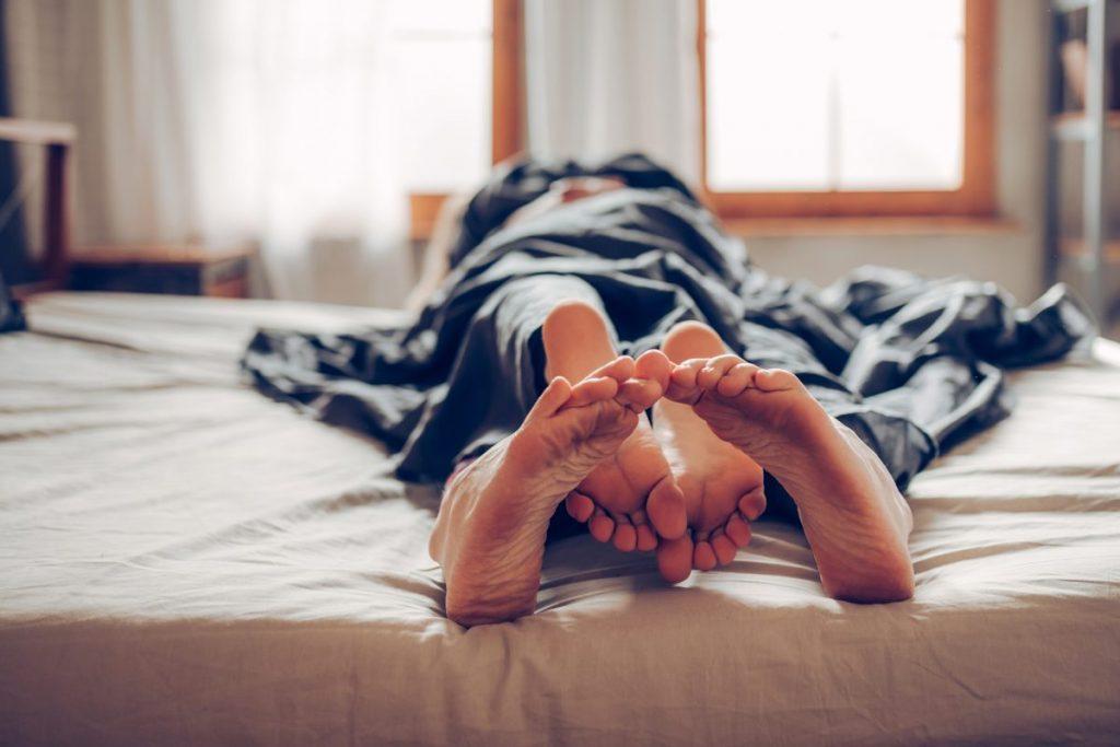 intimacy sleeping naked