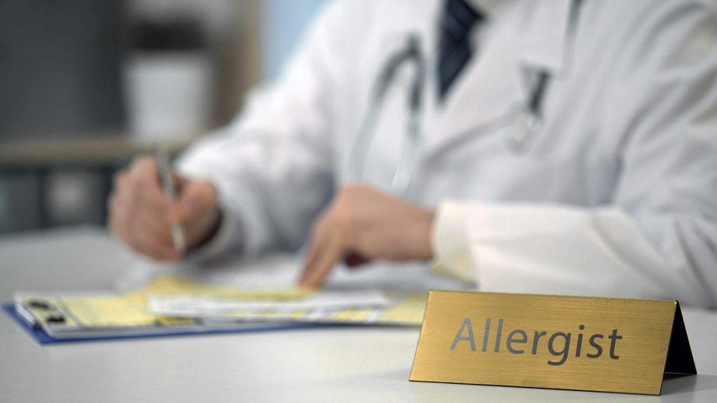 allergist pear allergies