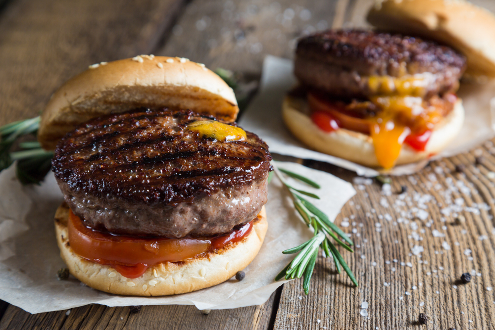 cheese bacon burgers