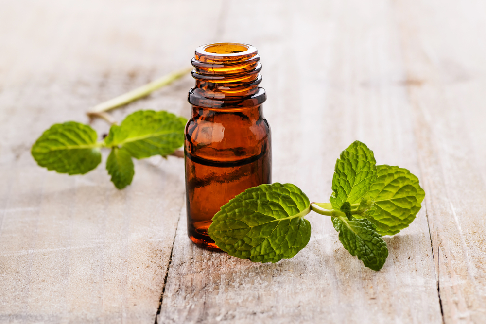 peppermint oil hickey