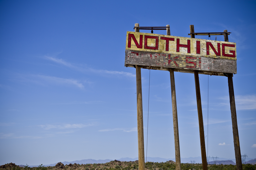 nothing town USA