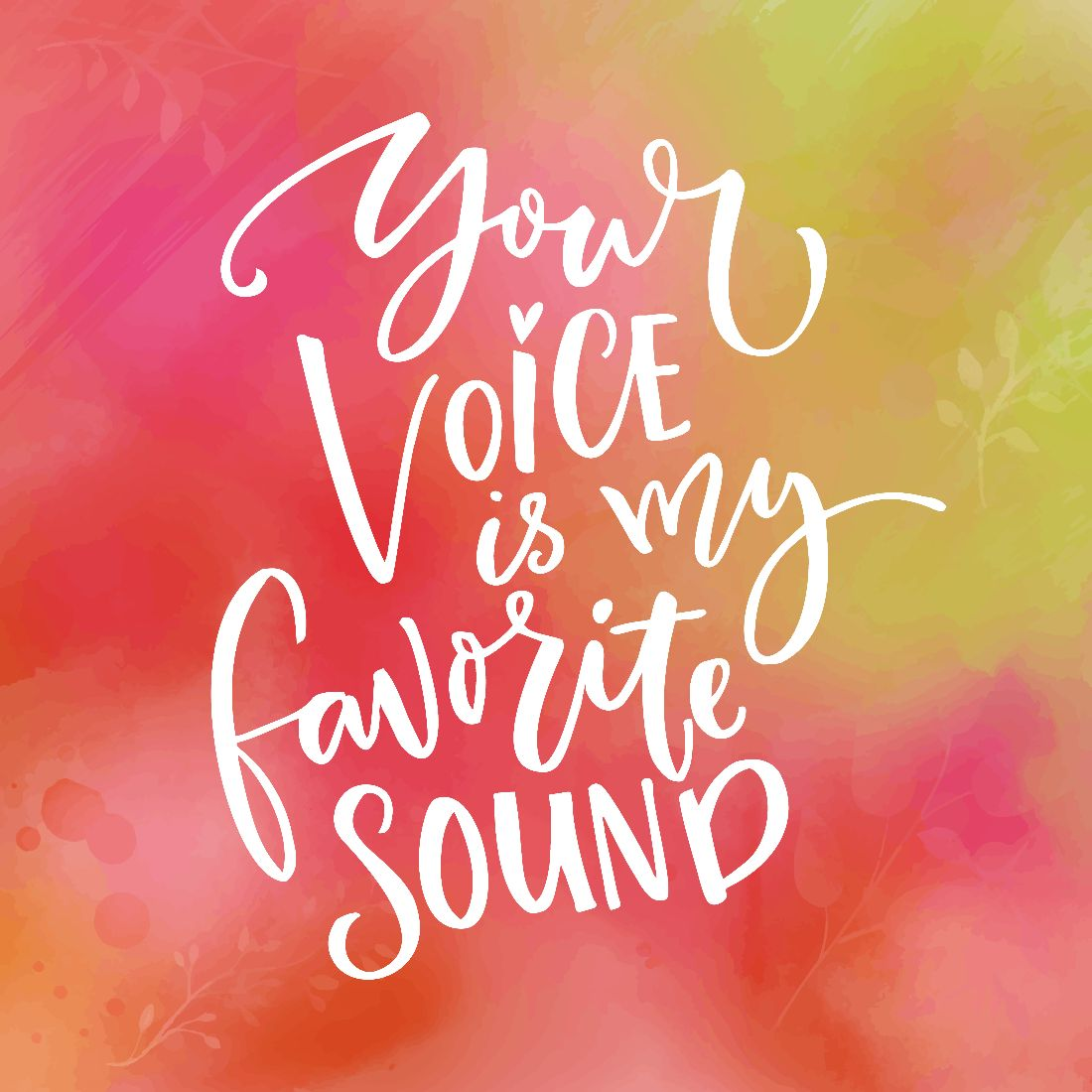 love quotes voice