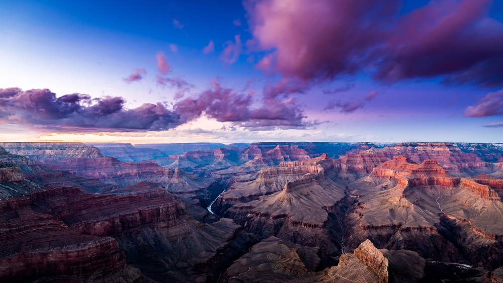 visiting Grand Canyon